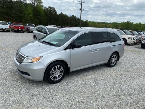 2012 Honda Odyssey for sale at Billy Ballew Motorsports in Dawsonville GA