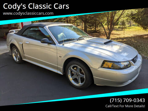2003 Ford Mustang for sale at Cody's Classic Cars in Stanley WI