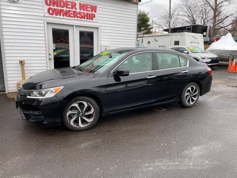 2016 Honda Accord for sale at Car VIP Auto Sales in Danbury CT