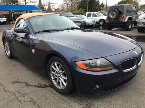 2003 BMW Z4 for sale at Dealer Finance Auto Center LLC in Sacramento CA