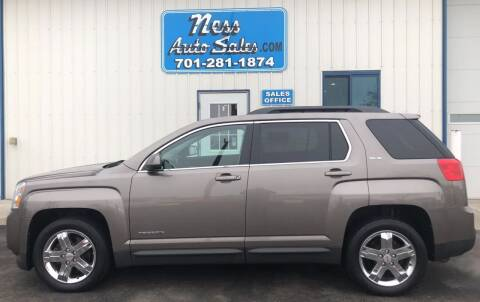 2012 GMC Terrain for sale at NESS AUTO SALES in West Fargo ND