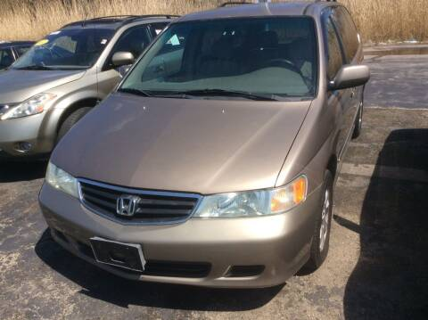 2003 Honda Odyssey for sale at Luxury Cars Xchange in Lockport IL