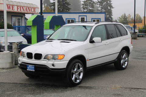 2003 BMW X5 for sale at BAYSIDE AUTO SALES in Everett WA