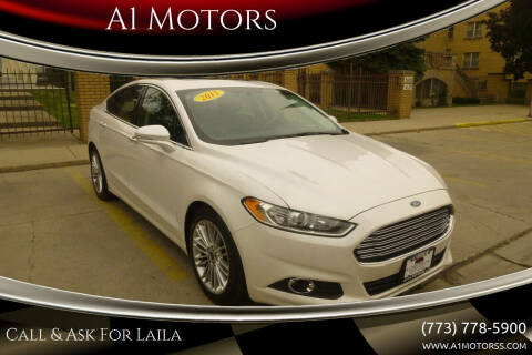 2015 Ford Fusion for sale at A1 Motors Inc in Chicago IL