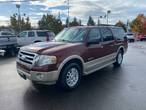 2007 Ford Expedition EL for sale at Vista Auto Sales in Lakewood WA