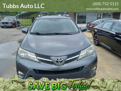 2015 Toyota RAV4 for sale at Tubbs Auto LLC in Tuscaloosa AL