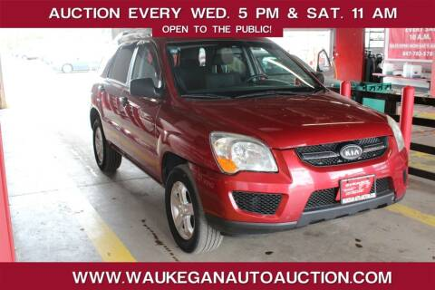 2009 Kia Sportage for sale at Waukegan Auto Auction in Waukegan IL