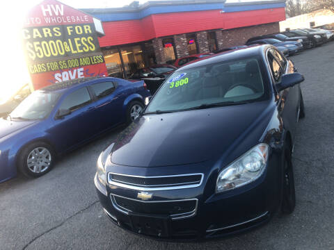 2009 Chevrolet Malibu for sale at HW Auto Wholesale in Norfolk VA