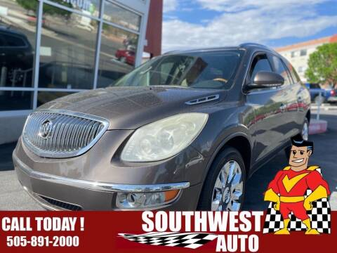 2011 Buick Enclave for sale at SOUTHWEST AUTO in Albuquerque NM