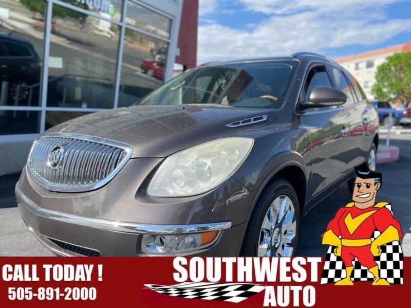 2011 Buick Enclave for sale at SOUTHWEST AUTO in Albuquerque NM