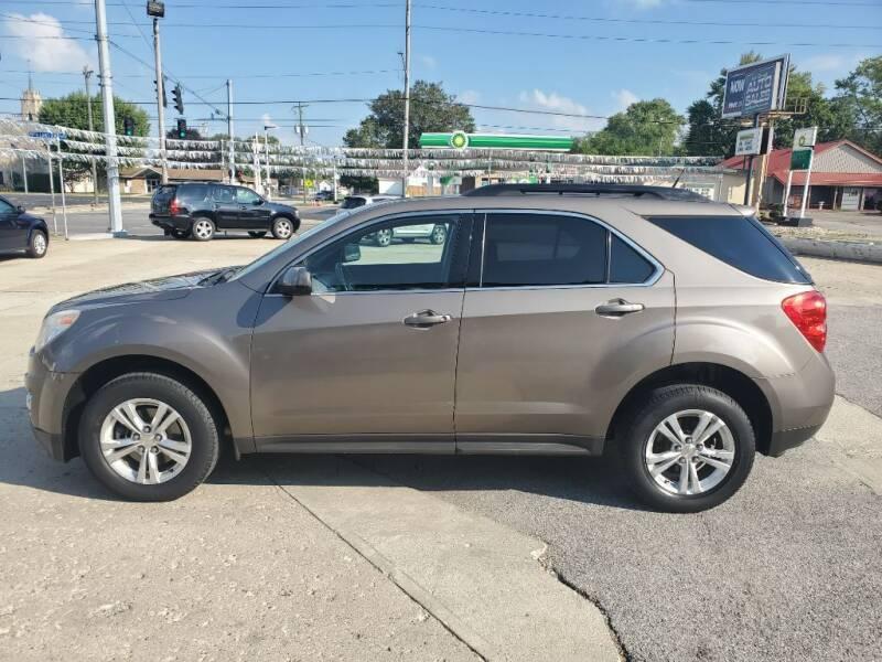 2011 Chevrolet Equinox for sale at Bob Boruff Auto Sales in Kokomo IN