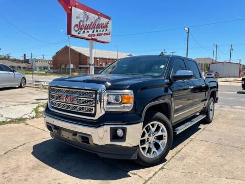 2015 GMC Sierra 1500 for sale at Southwest Car Sales in Oklahoma City OK