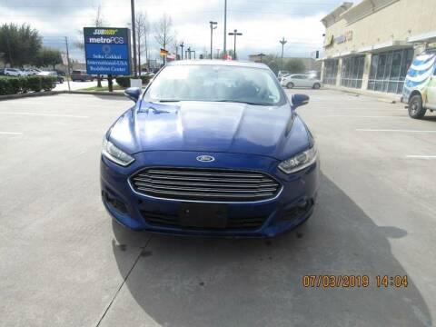 2014 Ford Fusion for sale at ATLANTIC MOTORS GP LLC in Houston TX