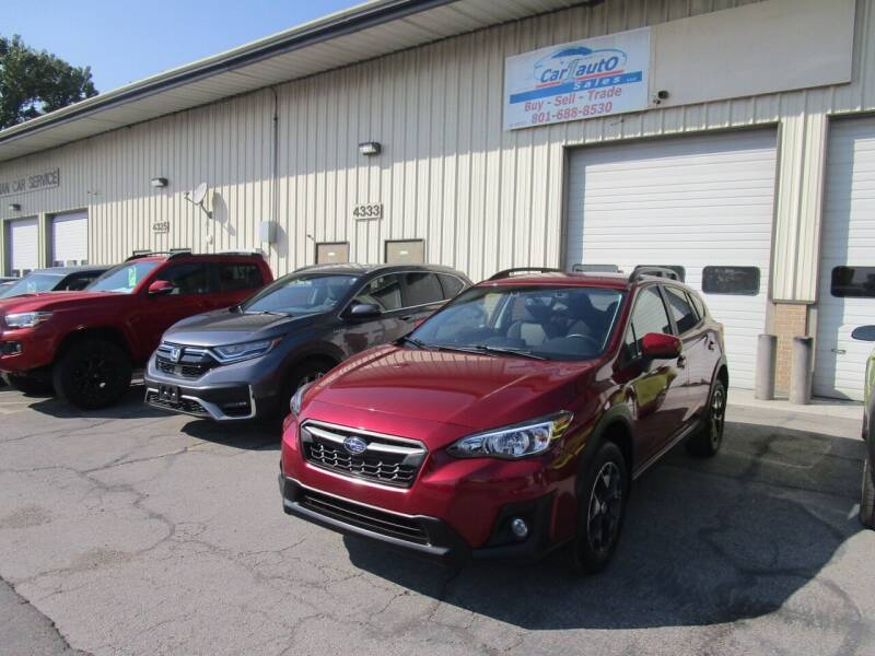 2018 Subaru Crosstrek for sale at Car 1 Auto Sales in Murray UT