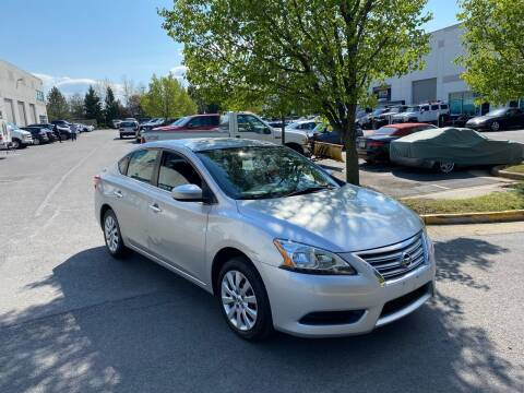 2015 Nissan Sentra for sale at Super Bee Auto in Chantilly VA