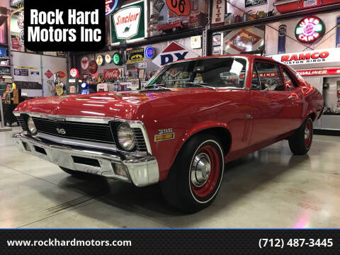 1970 Chevrolet Nova for sale at Rock Hard Motors Inc in Treynor IA