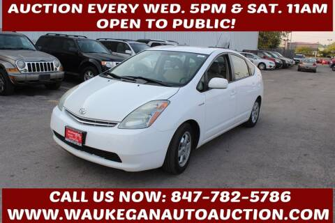2008 Toyota Prius for sale at Waukegan Auto Auction in Waukegan IL