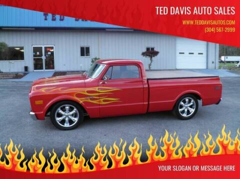 1969 Chevrolet C/K 10 Series for sale at Ted Davis Auto Sales in Riverton WV