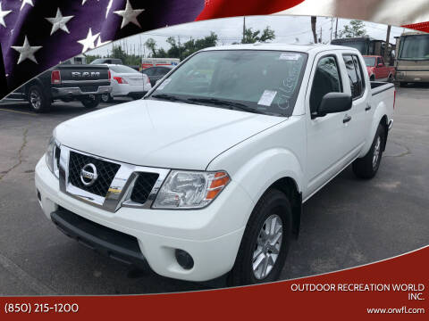 2018 Nissan Frontier for sale at Outdoor Recreation World Inc. in Panama City FL