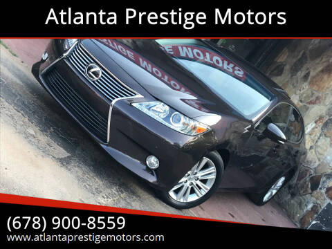 2015 Lexus ES 350 for sale at Atlanta Prestige Motors in Decatur GA