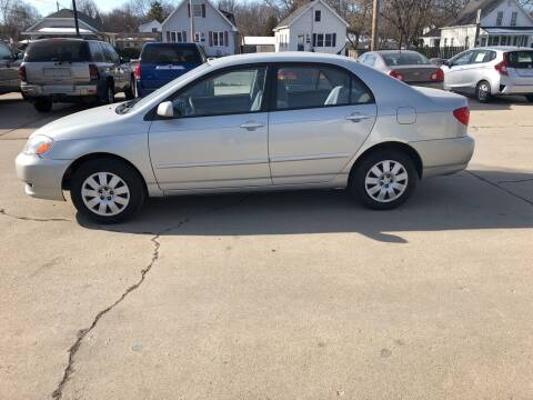 2004 Toyota Corolla for sale at Velp Avenue Motors LLC in Green Bay WI