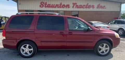 2005 Chevrolet Uplander for sale at STAUNTON TRACTOR INC in Staunton VA