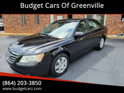 2009 Hyundai Sonata for sale at Budget Cars Of Greenville in Greenville SC