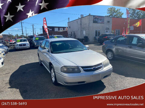 2004 Chevrolet Impala for sale at Impressive Auto Sales in Philadelphia PA