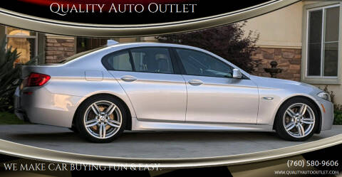 2013 BMW 5 Series for sale at Quality Auto Outlet in Vista CA