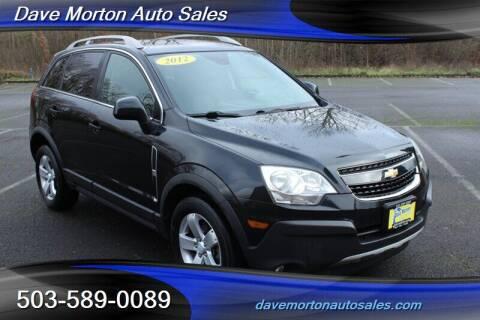 2012 Chevrolet Captiva Sport for sale at Dave Morton Auto Sales in Salem OR