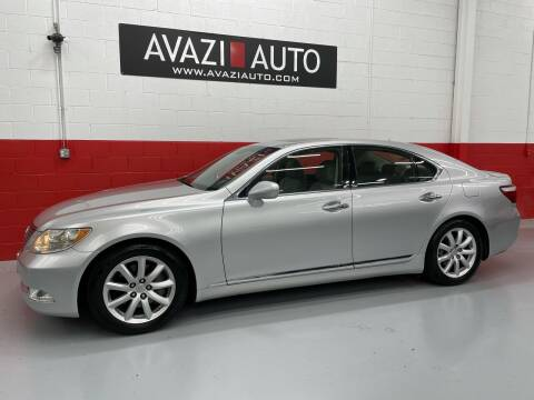 2007 Lexus LS 460 for sale at AVAZI AUTO GROUP LLC in Gaithersburg MD