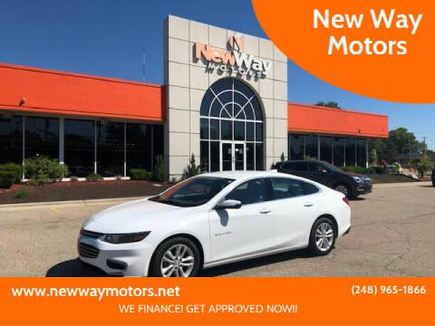 2016 Chevrolet Malibu for sale at New Way Motors in Ferndale MI
