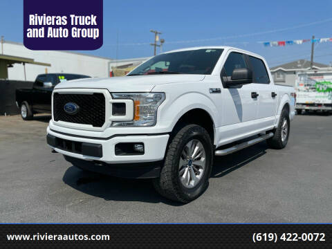 2018 Ford F-150 for sale at Rivieras Truck and Auto Group in Chula Vista CA