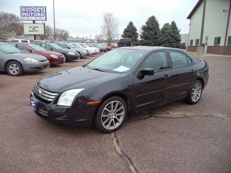 2009 Ford Fusion for sale at Budget Motors in Sioux City IA