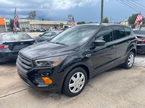 2018 Ford Escape for sale at P J Auto Trading Inc in Orlando FL