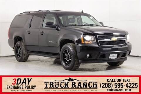 2012 Chevrolet Suburban for sale at Truck Ranch in Twin Falls ID