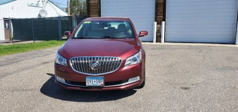2016 Buick LaCrosse for sale at Transmart Autos in Zimmerman MN