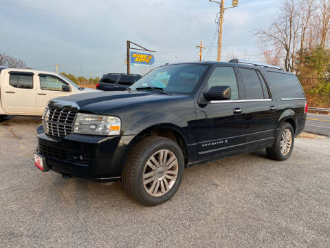 2012 Lincoln Navigator L for sale at Dubes Auto Sales in Lewiston ME