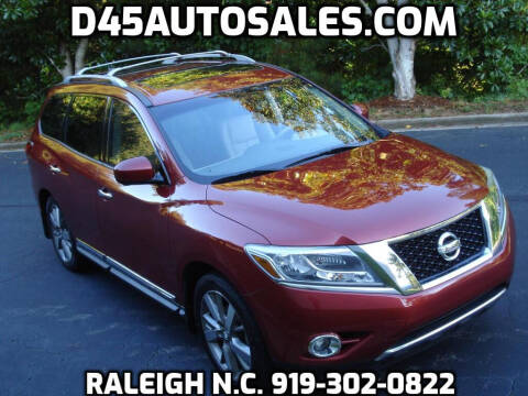 2015 Nissan Pathfinder for sale at D45 Auto Brokers in Raleigh NC