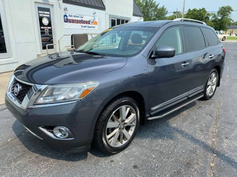 2014 Nissan Pathfinder for sale at Huggins Auto Sales in Ottawa OH