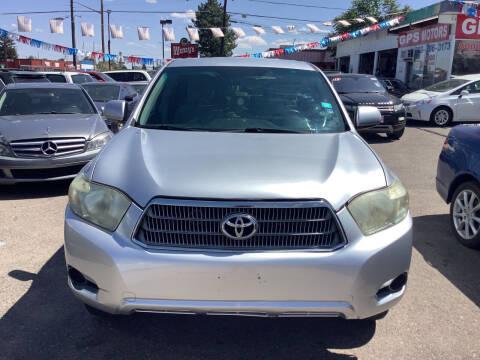 2009 Toyota Highlander Hybrid for sale at GPS Motors in Denver CO