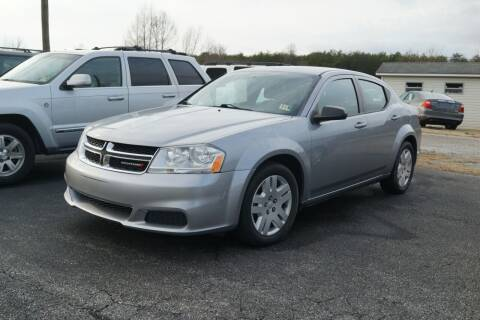 2014 Dodge Avenger for sale at Herman's Motor Sales Inc in Hurt VA
