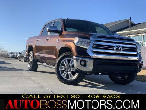 2016 Toyota Tundra for sale at Auto Boss in Woodscross UT