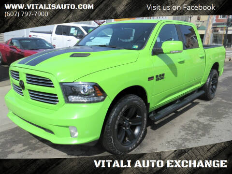 2017 RAM Ram Pickup 1500 for sale at VITALI AUTO EXCHANGE in Johnson City NY
