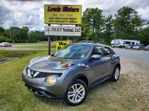 2015 Nissan JUKE for sale at Lewis Motors LLC in Deridder LA