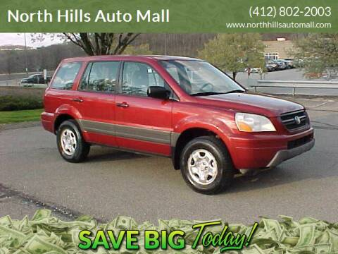 2005 Honda Pilot for sale at North Hills Auto Mall in Pittsburgh PA