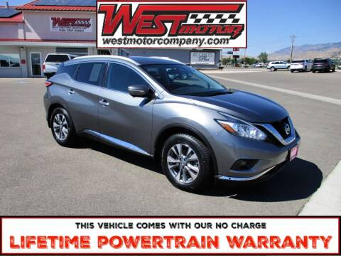 2015 Nissan Murano for sale at West Motor Company in Hyde Park UT