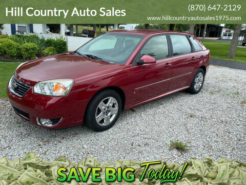 2006 Chevrolet Malibu Maxx for sale at Hill Country Auto Sales in Maynard AR