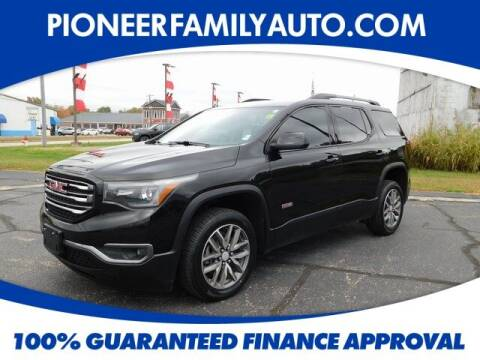 2017 GMC Acadia for sale at Pioneer Family auto in Marietta OH