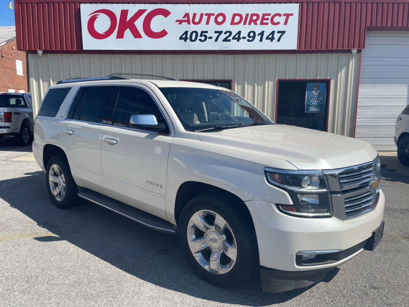 2015 Chevrolet Tahoe for sale at OKC Auto Direct, LLC in Oklahoma City OK